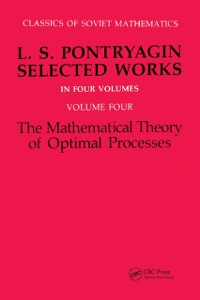 Cover Mathematical Theory of Optimal Processes
