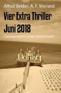 Cover Vier Extra Thriller Juni 2018