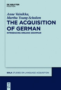 Cover The Acquisition of German