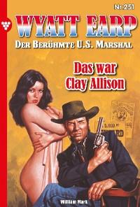 Cover Wyatt Earp 251 – Western