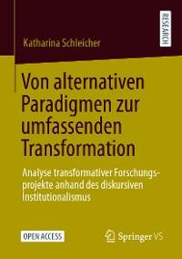 Cover Von alternativen Paradigmen zur umfassenden Transformation