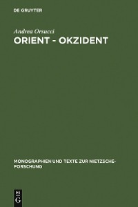 Cover Orient - Okzident