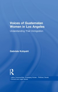 Cover Voices of Guatemalan Women in Los Angeles
