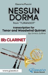 Cover Nessun Dorma - Tenor & Woodwind Quintet (Clarinet part)