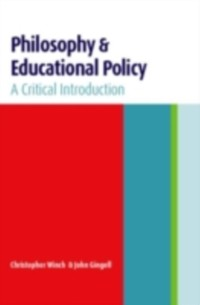 Cover Philosophy and Educational Policy