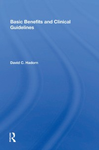 Cover Basic Benefits And Clinical Guidelines