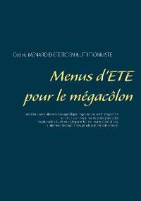 Cover Menus d'été pour le mégacôlon