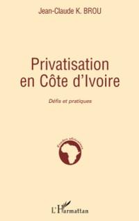 Cover Privatisation en cote d'ivoire