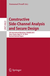 Cover Constructive Side-Channel Analysis and Secure Design