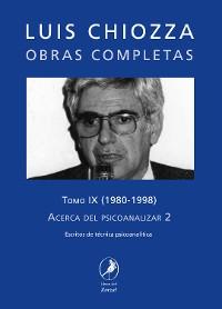Cover Obras completas de Luis Chiozza Tomo IX