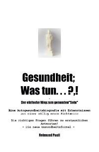 Cover Gesundheit;  Was Tun ... ?,!