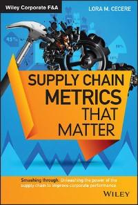 Cover Supply Chain Metrics that Matter