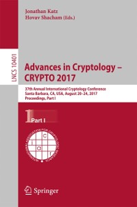 Cover Advances in Cryptology - CRYPTO 2017