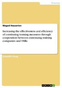 Cover Increasing the effectiveness and efficiency of continuing training measures through cooperation between continuing training companies and SMEs