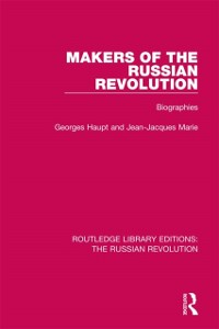 Cover Makers of the Russian Revolution