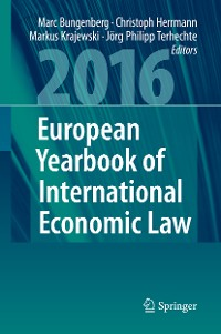 Cover European Yearbook of International Economic Law 2016