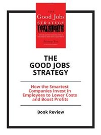 Cover The Good Jobs Strategy