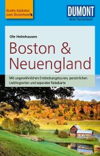 Cover DuMont Reise-Taschenbuch Reiseführer Boston & Neuengland