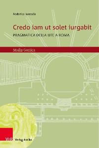 Cover Credo iam ut solet iurgabit