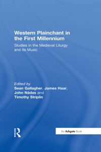 Cover Western Plainchant in the First Millennium