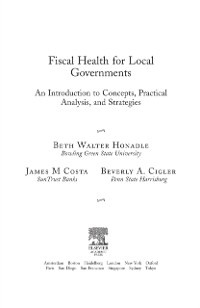 Cover Fiscal Health for Local Governments