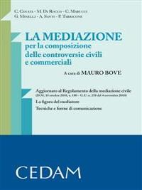 Cover La mediazione per la composizione delle controversie civili e commerciali