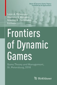 Cover Frontiers of Dynamic Games