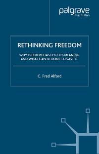 Cover Rethinking Freedom