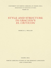 Cover Style and Structure in Gracián's El Criticón