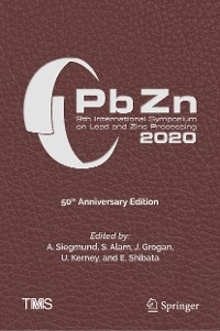 Cover PbZn 2020: 9th International Symposium on Lead and Zinc Processing