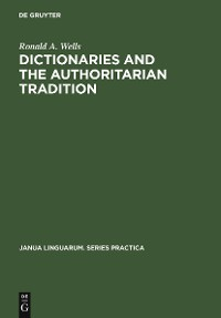 Cover Dictionaries and the Authoritarian Tradition