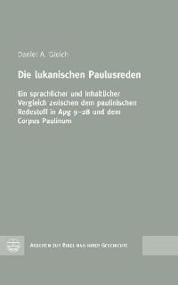Cover Die lukanischen Paulusreden