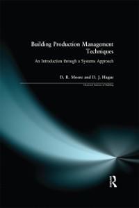 Cover Building Production Management Techniques