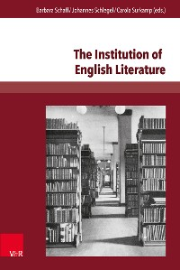 Cover The Institution of English Literature
