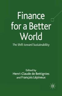 Cover Finance for a Better World