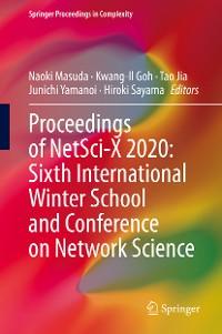 Cover Proceedings of NetSci-X 2020: Sixth International Winter School and Conference on Network Science