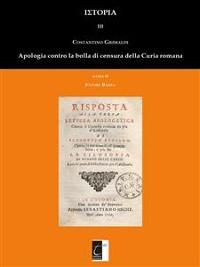 Cover Apologia contro la bolla e la censura di Roma