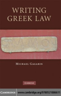 Cover Writing Greek Law