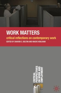 Cover Work Matters