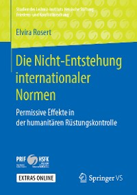 Cover Die Nicht-Entstehung internationaler Normen