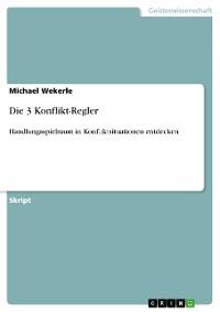 Cover Die 3 Konflikt-Regler