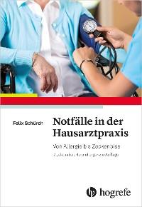 Cover Notfälle in der Hausarztpraxis