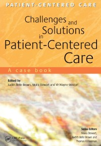 Cover Challenges and Solutions in Patient-Centered Care