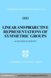 Cover Linear and Projective Representations of Symmetric Groups
