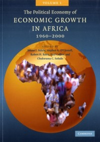 Cover Political Economy of Economic Growth in Africa, 1960-2000: Volume 1