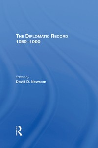 Cover Diplomatic Record 1989-1990