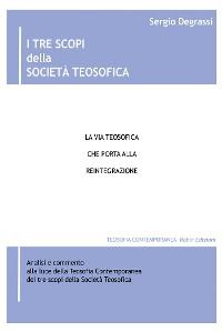 Cover I tre scopi della Società Teosofica