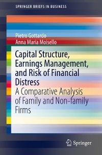 Cover Capital Structure, Earnings Management, and Risk of Financial Distress