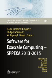 Cover Software for Exascale Computing - SPPEXA 2013-2015