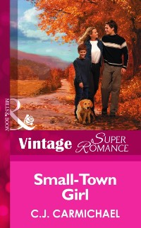 Cover Small-Town Girl (Mills & Boon Vintage Superromance)